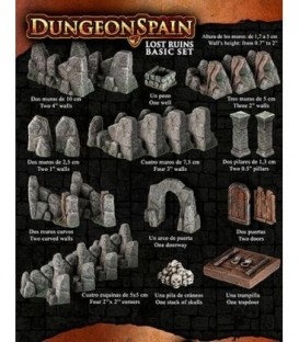 Dungeon Spain: Lost Ruins Basic Set