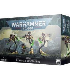 Warhammer 40,000: Necrons (Ophydian Destroyers)