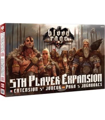 Blood Rage: Expansión para 5 Jugadores