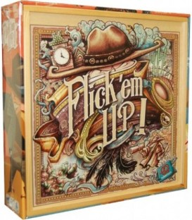 Flick' em Up! Deluxe Wooden Box (Inglés)