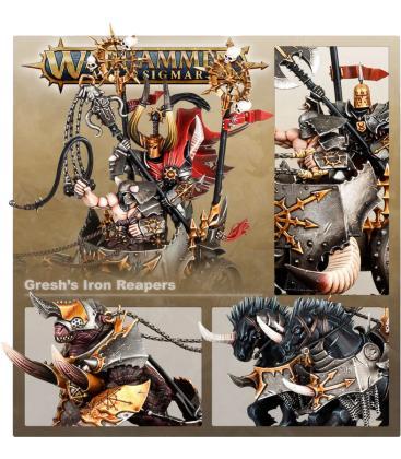 Warhammer Age of Sigmar: Broken Realms (Rokar Gresh – Gresh's Iron Reapers)
