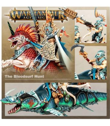 Warhammer Age of Sigmar: Broken Realms (King Sythus Nemmetar – The Bloodsurf Hunt)