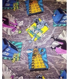 Bolsa 12x18 Dr. Who