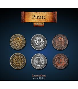 Legendary Metal Coins: Pirates (24)