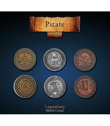 Legendary Metal Coins: Pirates (24)