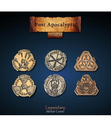 Legendary Metal Coins: Post Apocalyptica (24)
