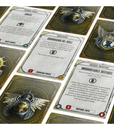 Warhammer 40,000: Imperial Fists (Datacards)