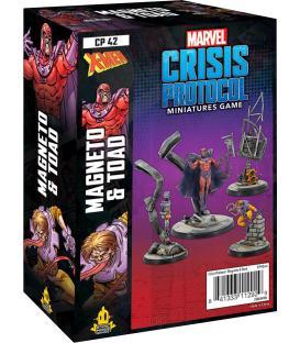 Marvel Crisis Protocol: Magneto & Toad (Inglés)