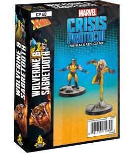 Marvel Crisis Protocol: Wolverine & Sabretooth (Inglés)