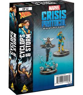 Marvel Crisis Protocol: Cyclops & Storm (Inglés)
