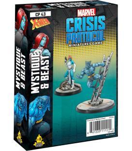 Marvel Crisis Protocol: Beast & Mystique (Inglés)