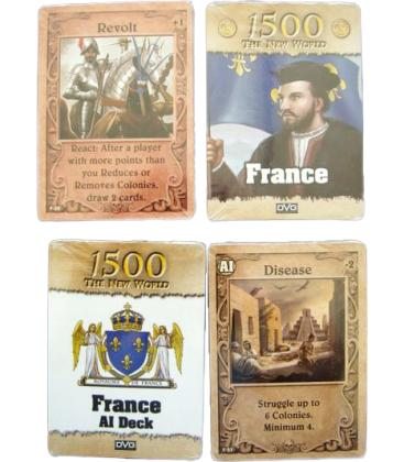 1500 The New World: France