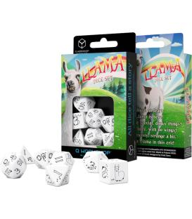 Q-Workshop: Llama Bright (White & Black)