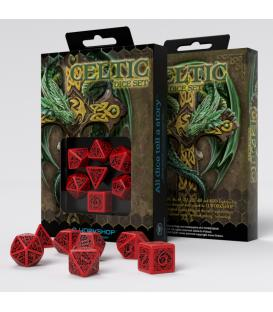 Q-Workshop: Celtic 3D Revised (Red/Black)