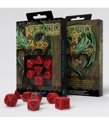 Q-Workshop: Celtic 3D Revised (Red/Black)