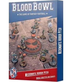 Blood Bowl: Necromantic Horror Pitch (Double-sided Pitch and Dugouts) (Inglés)