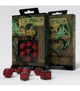 Q-Workshop: Celtic 3D Revised (Black/Red)