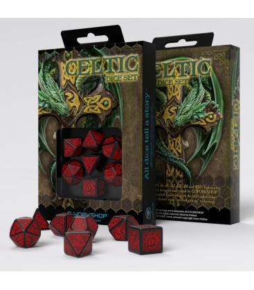 Q-Workshop: Celtic 3D Revised (Black/Red)