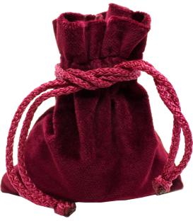 Bolsa Drawlab - Terciopelo Rojo