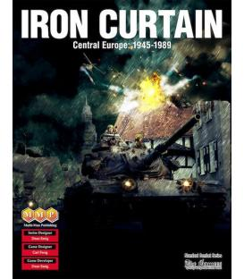 Iron Curtain: Central Europe, 1945-1989 (Inglés)