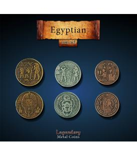 Legendary Metal Coins: Egyptian (24)
