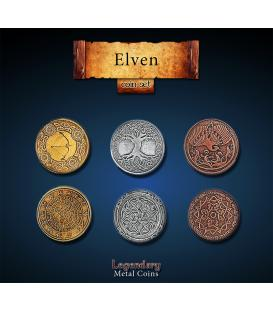 Legendary Metal Coins: Elven (24)