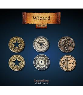 Legendary Metal Coins: Wizard (24)