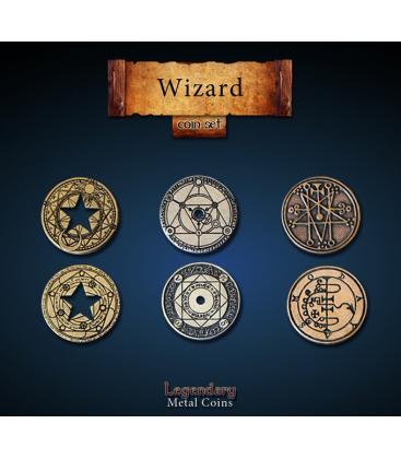 Legendary Metal Coins: Wizard (24)
