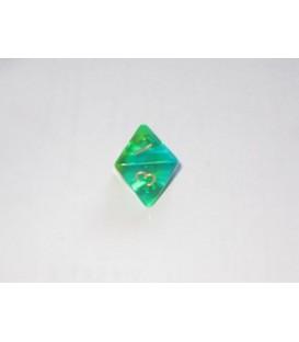 Dado Gema Blitz 8 Caras - Verde / Amarillo