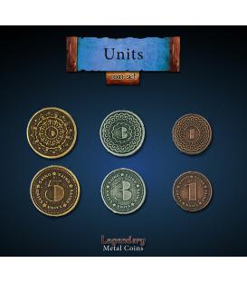 Legendary Metal Coins: Units (24)
