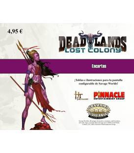 Savage Worlds: Deadlands - Lost Colony (Encartes)