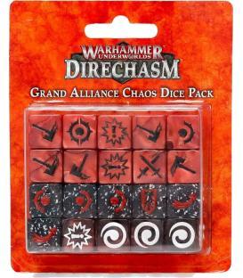 Warhammer Underworlds Direchasm: Grand Alliance Chaos (Dice Pack)
