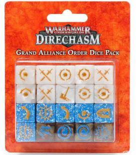 Warhammer Underworlds Direchasm: Grand Alliance Order (Dice Pack)