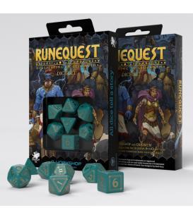 Q-Workshop: Runequest (Turquoise & Gold)