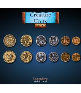 Legendary Metal Coins: Creature Units (30)