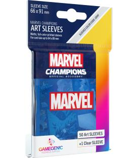 Gamegenic: Marvel Champions Art Sleeves 66x91mm (50) (Blue)