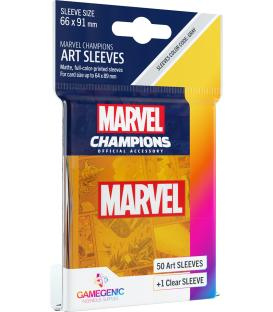 Gamegenic: Marvel Champions Art Sleeves 66x91mm (50) (Orange)