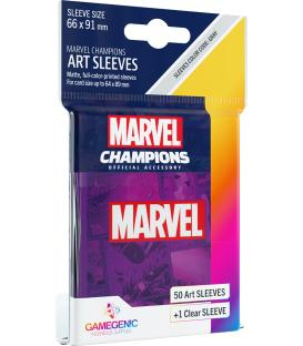 Gamegenic: Marvel Champions Art Sleeves 66x91mm (50) (Purple)