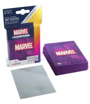 Gamegenic: Marvel Champions Art Sleeves 66x91mm (50) (Purple)