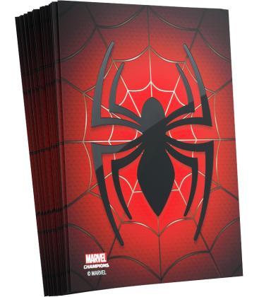 Gamegenic: Marvel Champions Art Sleeves 66x91mm (50) (Spider-Man)
