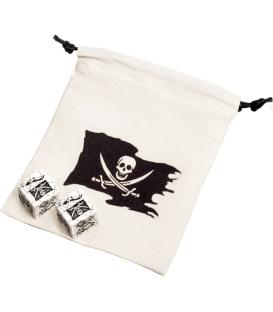 Bolsa Q-Workshop - Pirate Dice & Bag