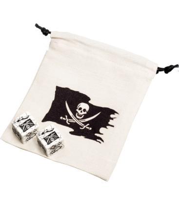 Bolsa Q-Workshop - Pirate Dice & Bag