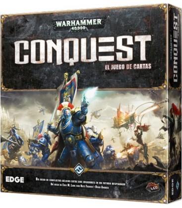 Pack W40P - Warhammer 40.000: Conquest + Leyenda de los Cinco Anillos (+ Fundas Premium)