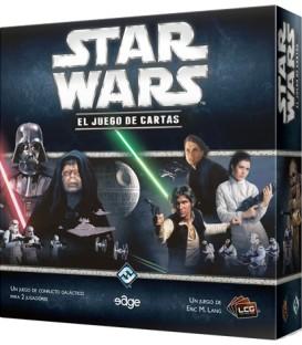 Pack SWF - Star Wars LCG: Caja Básica + Leyenda de los Cinco Anillos + Fundas