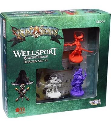 Rum & Bones: Wellsport Heroes Set 1