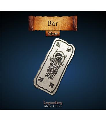 Legendary Metal Coins: Silver 20 Bar (1)
