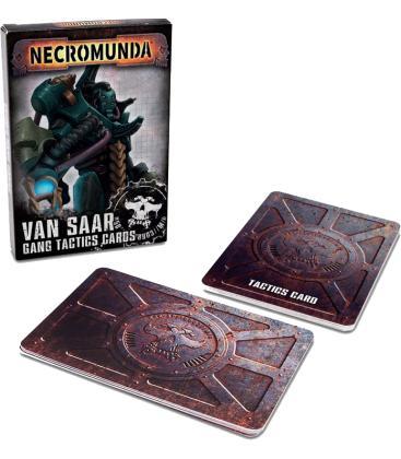Necromunda: Van Saar (Gang Tactics Cards) (Inglés)