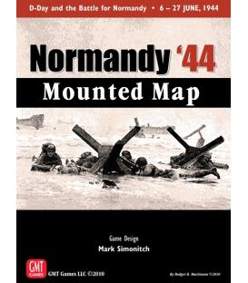 Normandy'44 Mounted Map