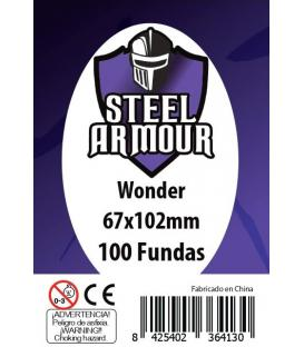 Fundas Steel Armour (65x100mm) Wonder (100) - Exterior 67x102mm
