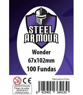 Fundas Steel Armour (65x100mm) Wonder (100) - Exterior 67x102mm
